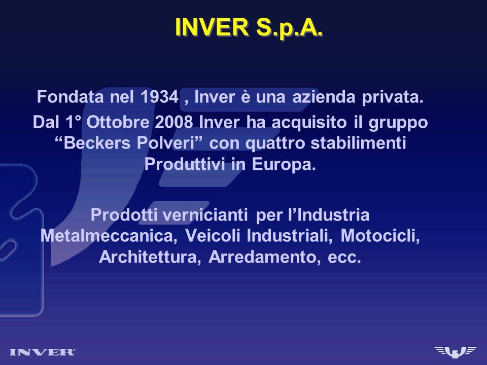 Fondata nel 1934 , Inver è una azienda privata.