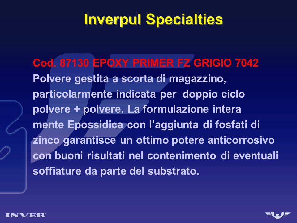 Inverpul Specialties Cod. 87130 EPOXY PRIMER FZ GRIGIO 7042