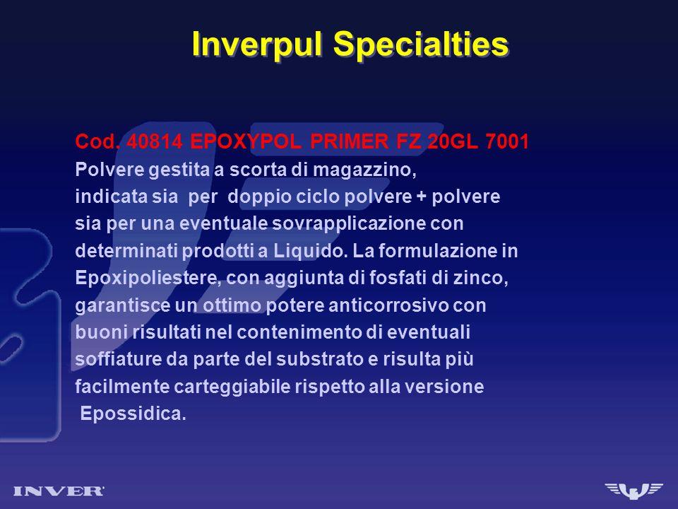 Inverpul Specialties Cod. 40814 EPOXYPOL PRIMER FZ 20GL 7001