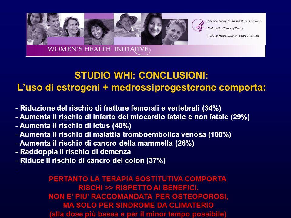 STUDIO WHI: CONCLUSIONI: