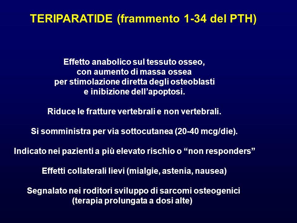 TERIPARATIDE (frammento 1-34 del PTH)
