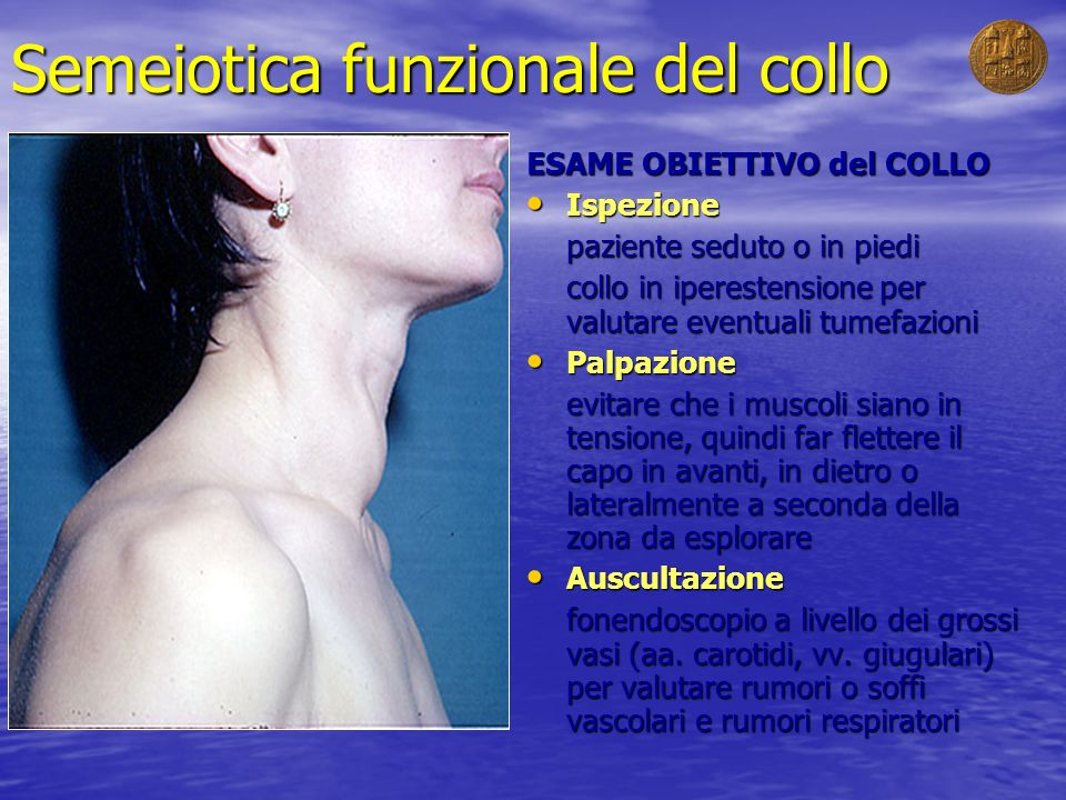 Semeiotica funzionale del collo