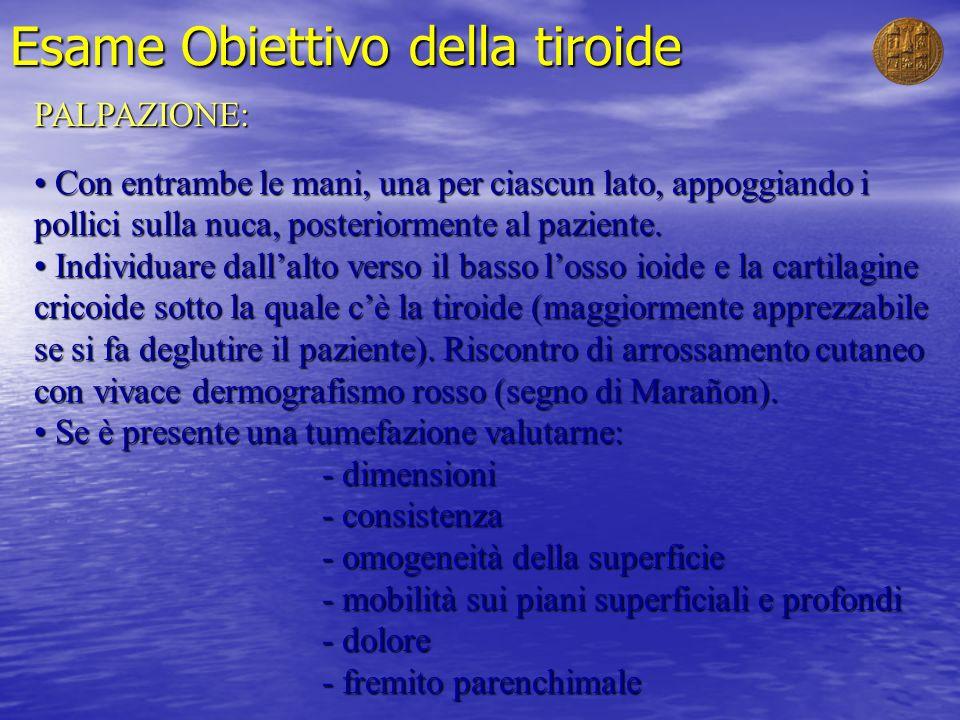 Esame Obiettivo della tiroide