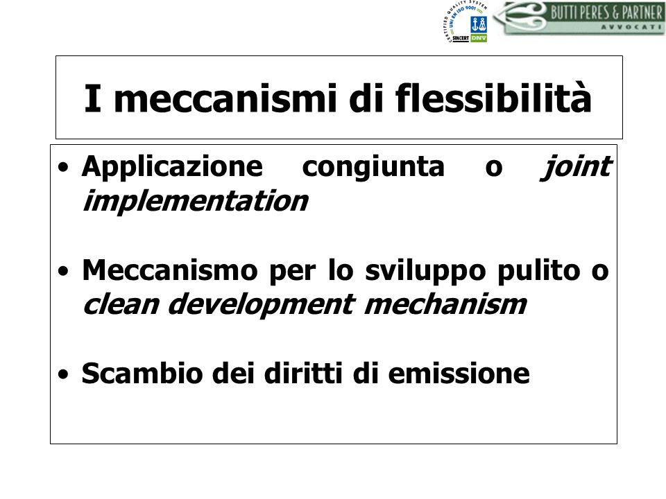 I meccanismi di flessibilità
