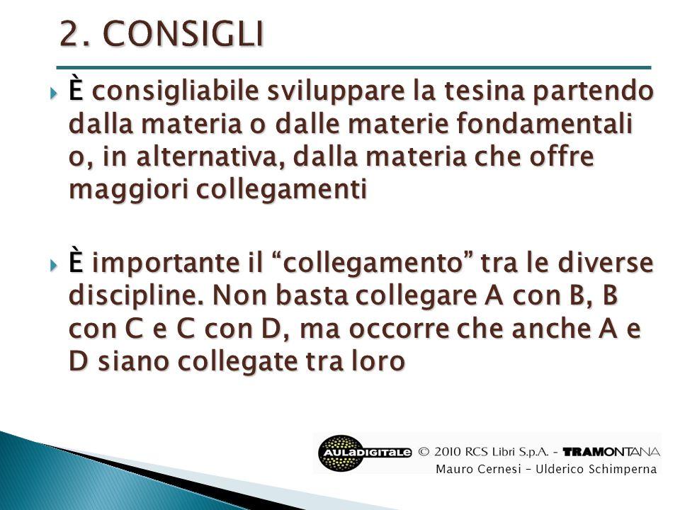 2. CONSIGLI