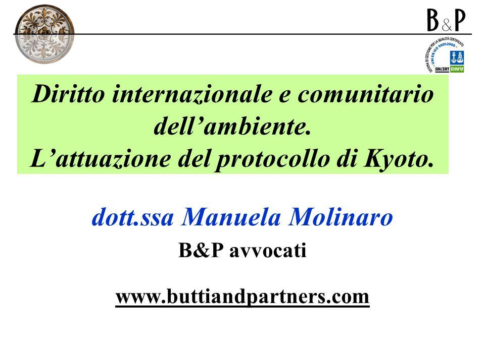 dott.ssa Manuela Molinaro B&P avvocati www.buttiandpartners.com
