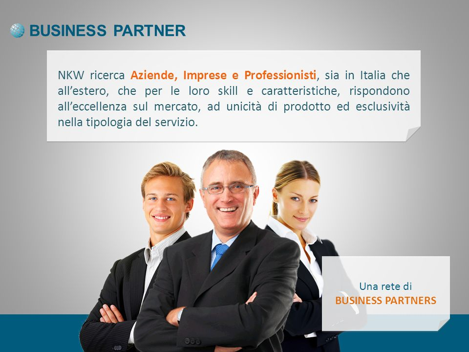 BUSINESS PARTNER