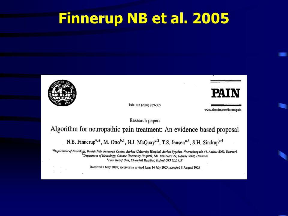 Finnerup NB et al. 2005 4