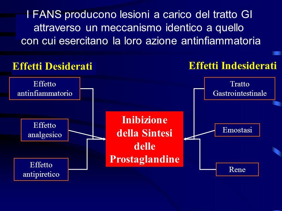 Inibizione della Sintesi delle Prostaglandine