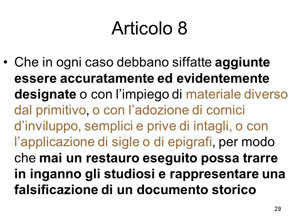 Articolo 8