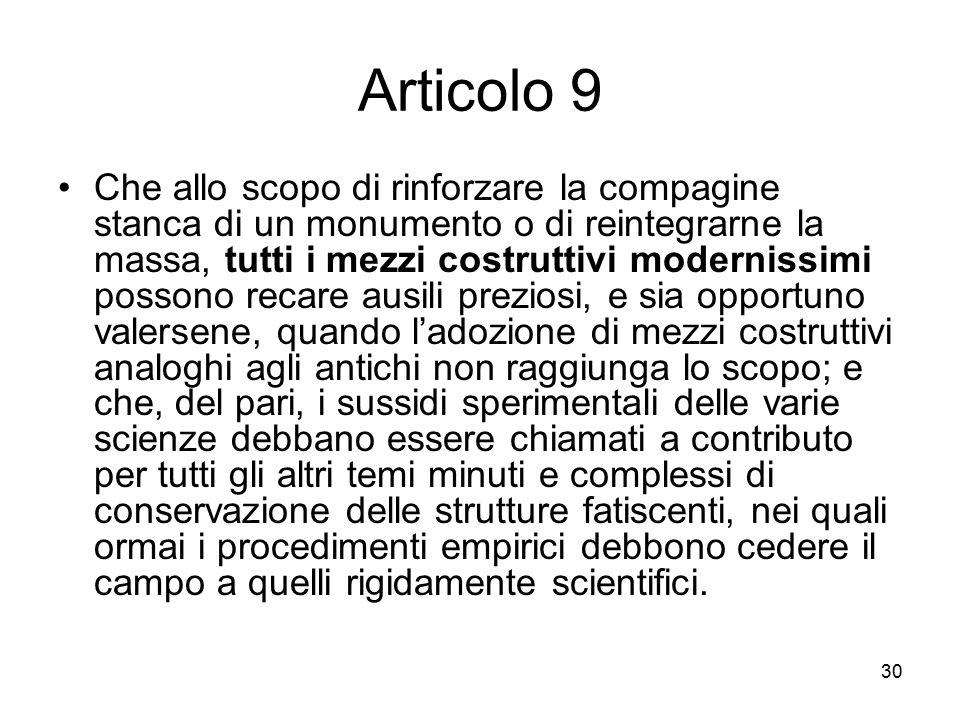 Articolo 9