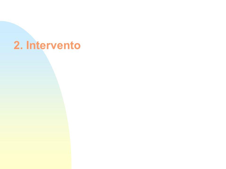2. Intervento