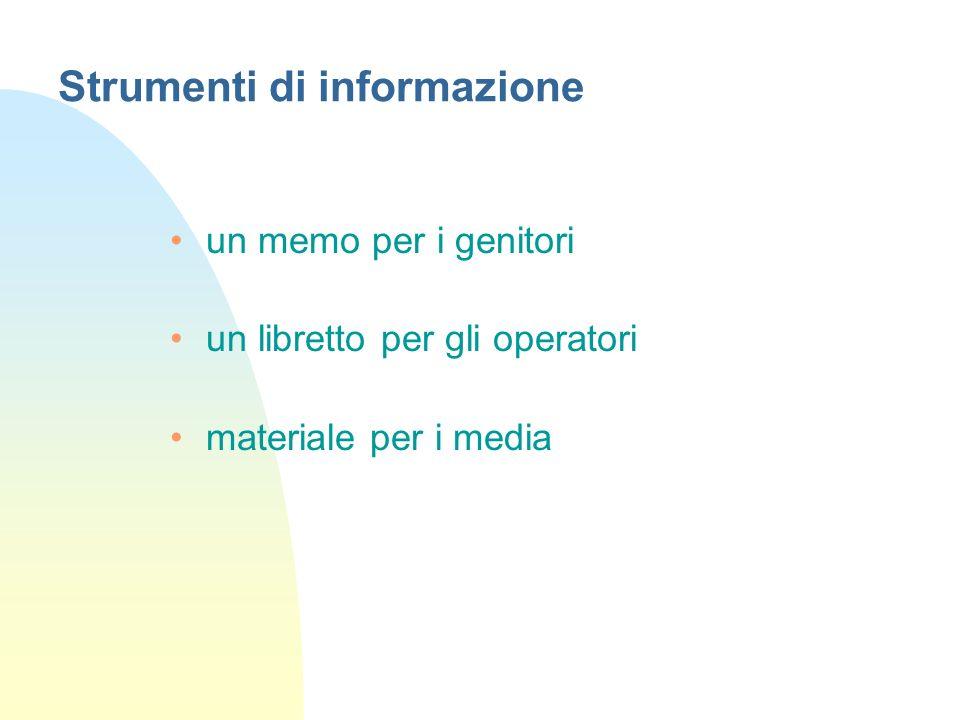 Strumenti di informazione