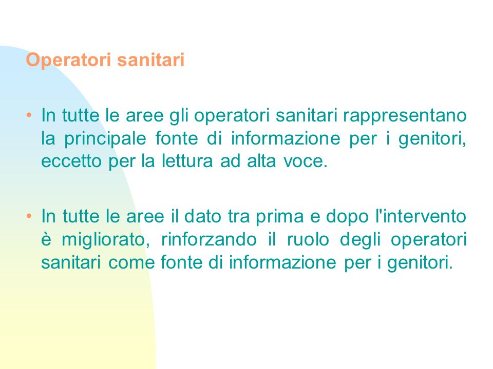 Operatori sanitari