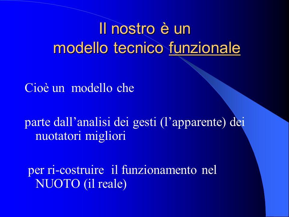 Il nostro è un modello tecnico funzionale