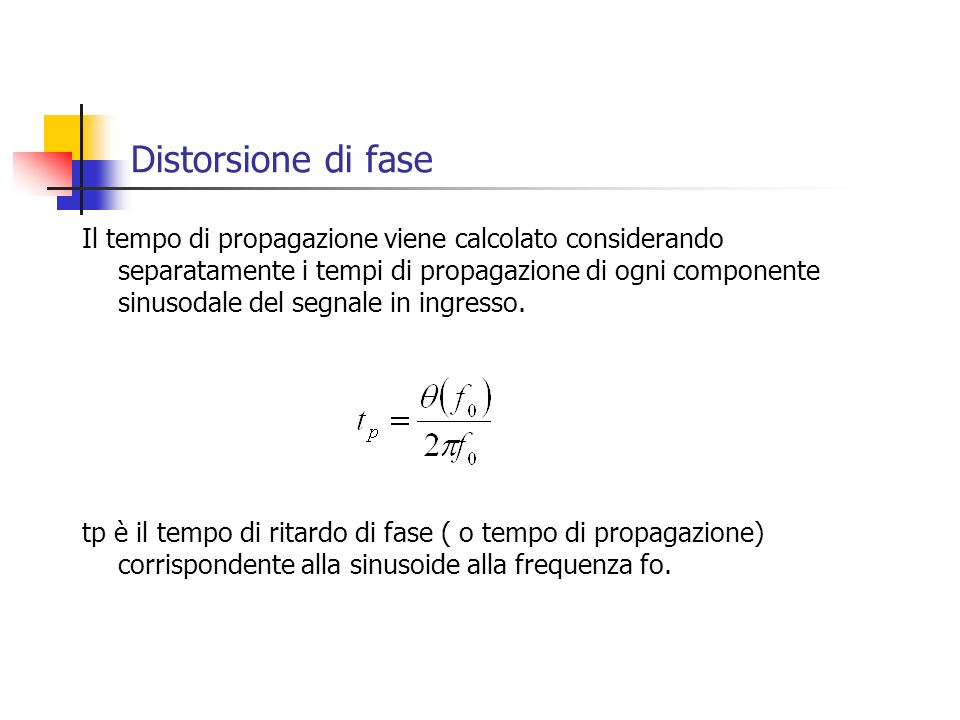 Distorsione di fase