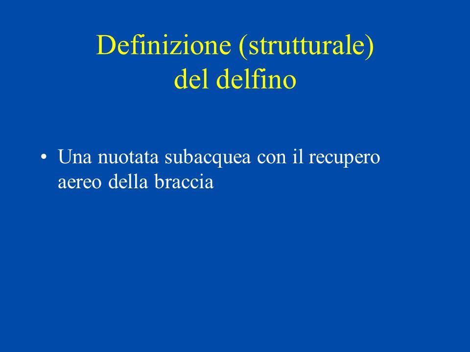 Definizione (strutturale) del delfino