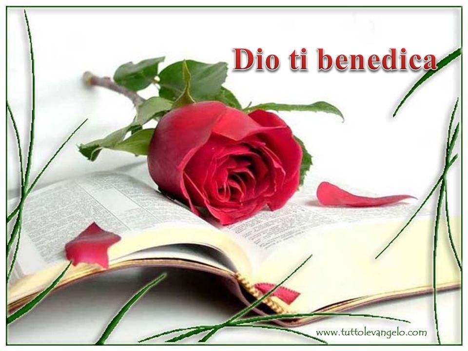 Dio ti benedica www.tuttolevangelo.com