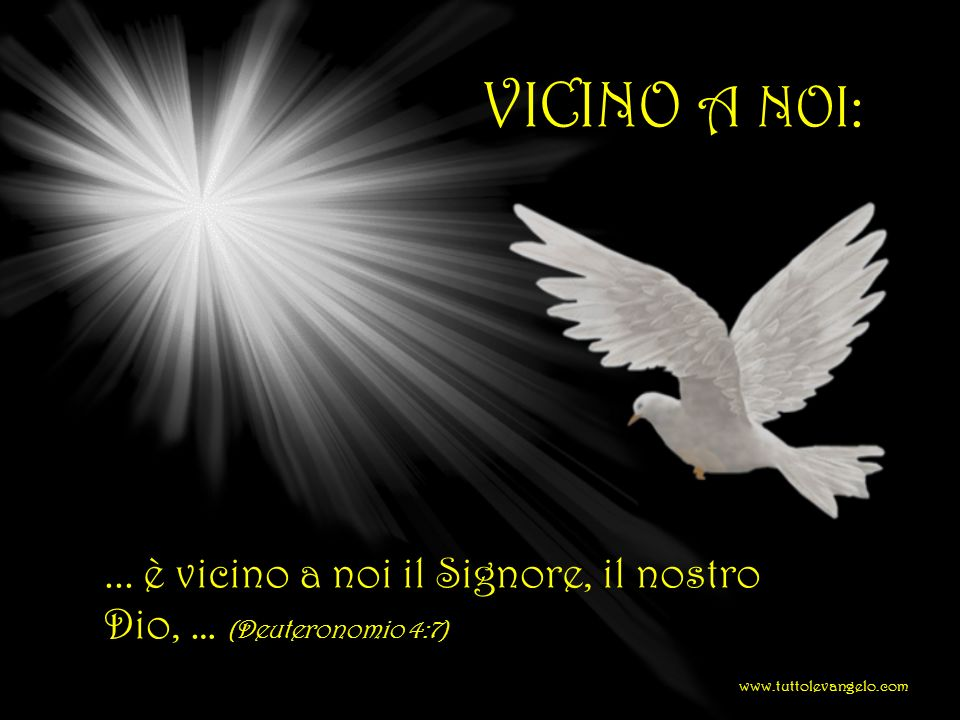 VICINO A NOI: ...