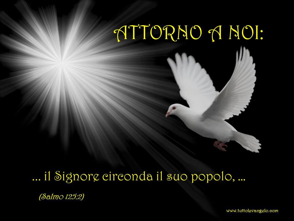 ATTORNO A NOI: ... il Signore circonda il suo popolo, … (Salmo 125:2)