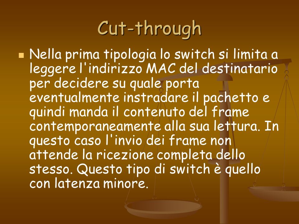 Cut-through