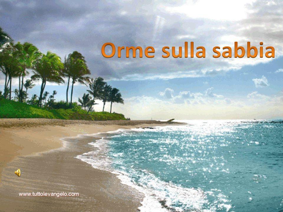 Orme sulla sabbia www.tuttolevangelo.com
