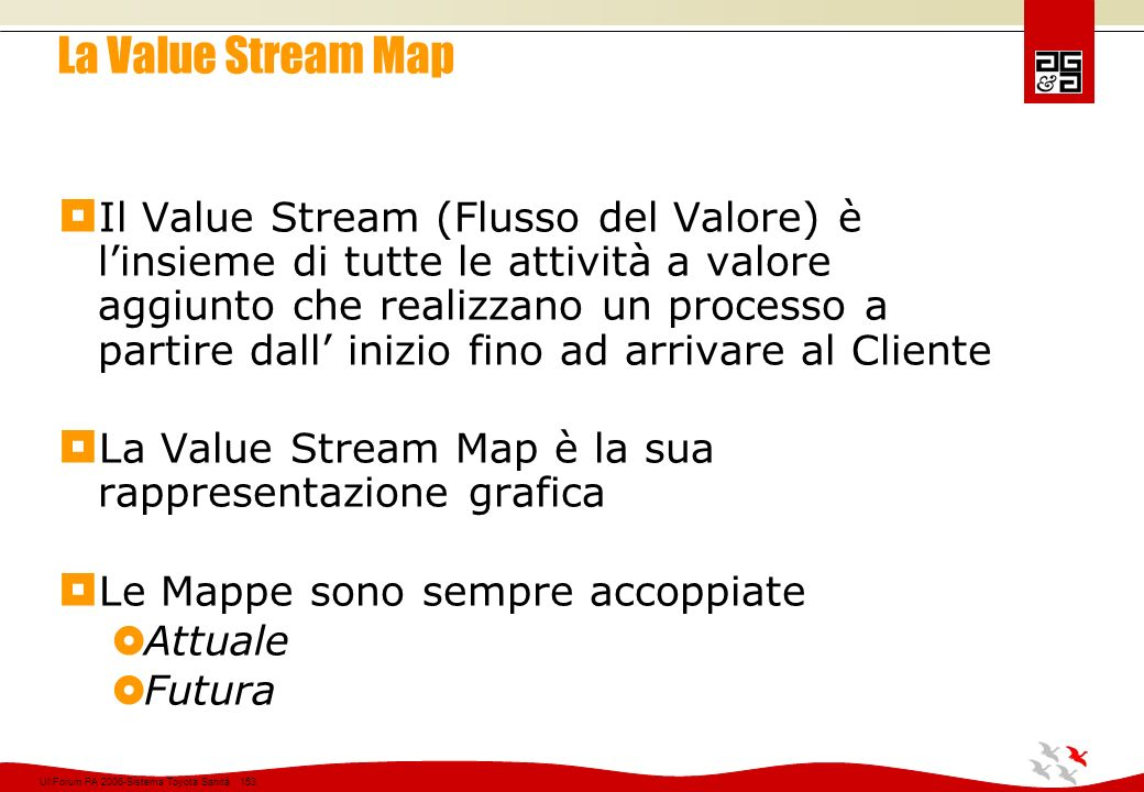 La Value Stream Map