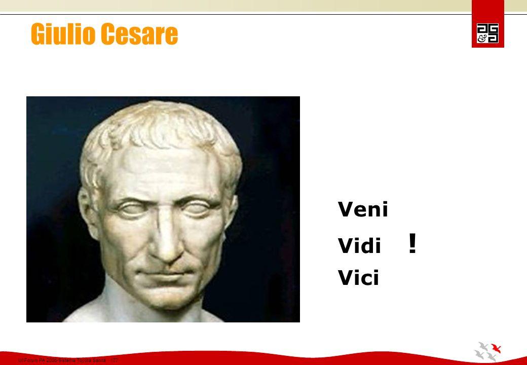 Giulio Cesare Veni Vidi ! Vici