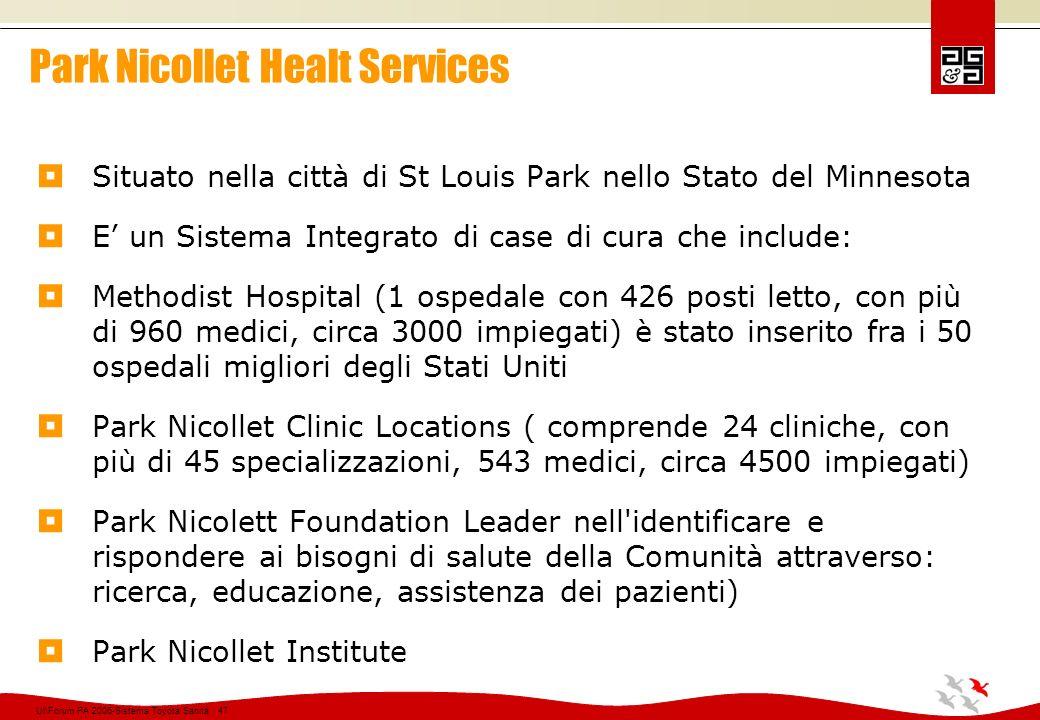 Park Nicollet Healt Services