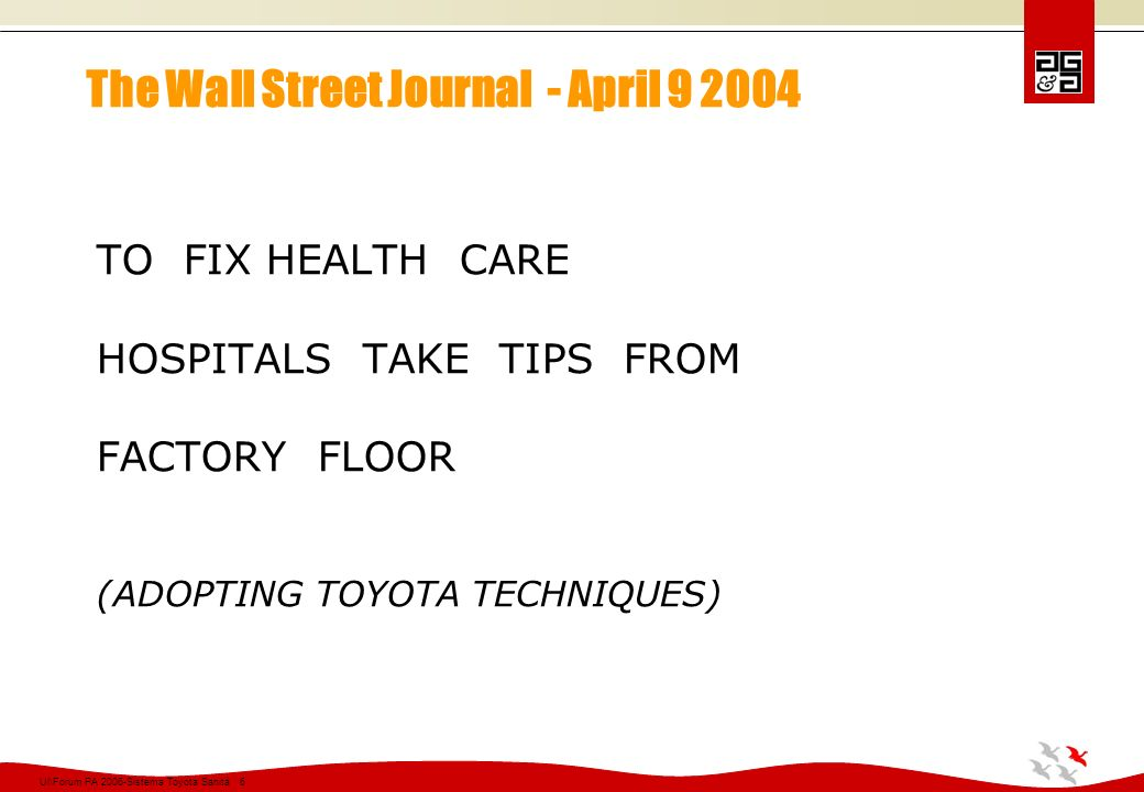 The Wall Street Journal - April 9 2004