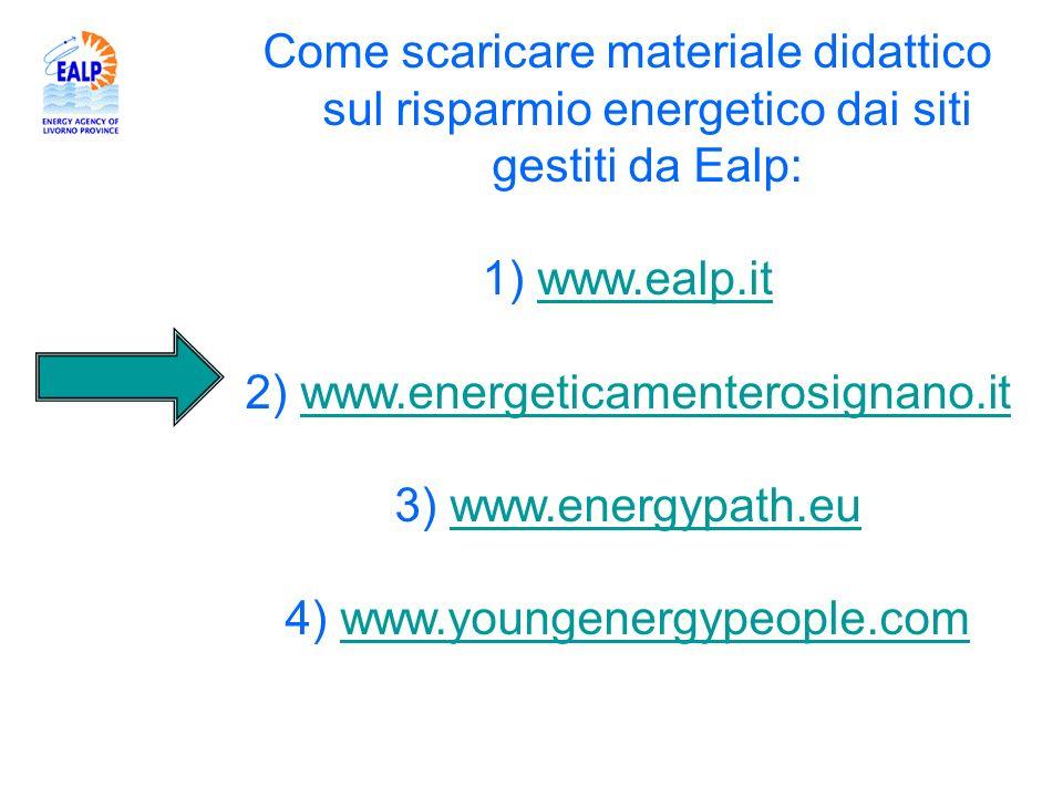 2) www.energeticamenterosignano.it 3) www.energypath.eu
