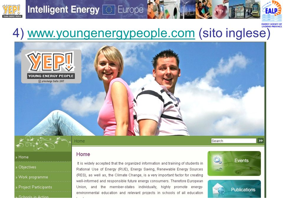 4) www.youngenergypeople.com (sito inglese)