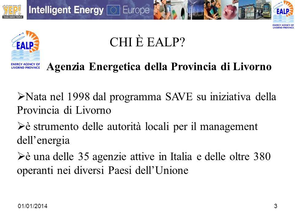 CHI è EALP Agenzia Energetica della Provincia di Livorno