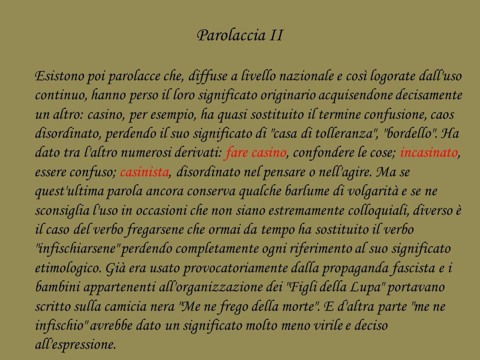 Parolaccia II
