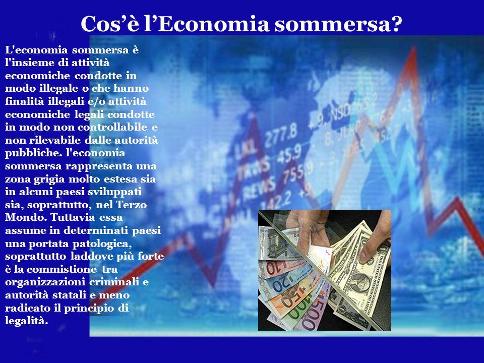 Cos'è l'Economia sommersa