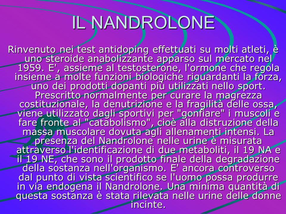 IL NANDROLONE