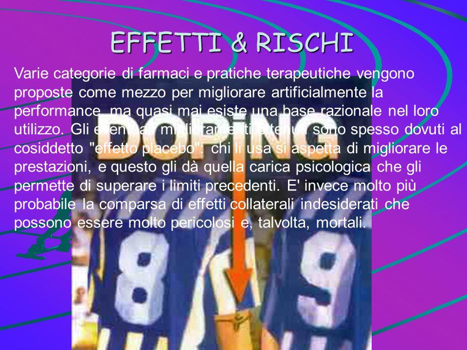 EFFETTI & RISCHI