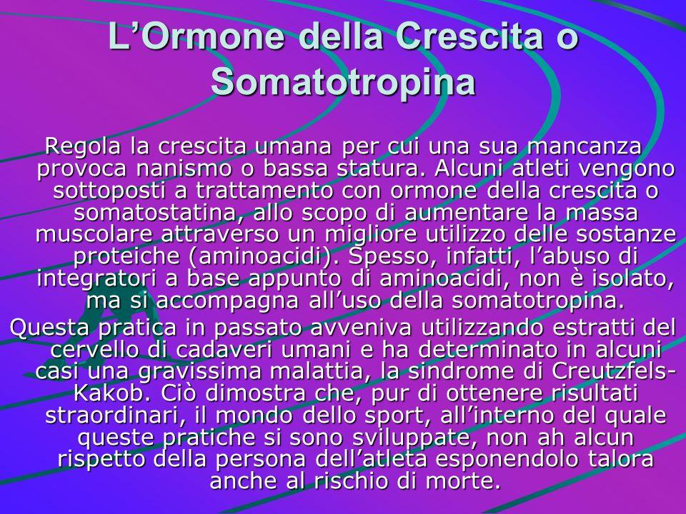L'Ormone della Crescita o Somatotropina