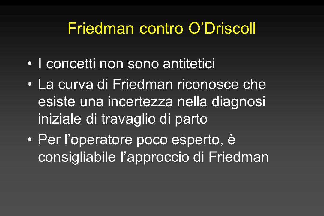 Friedman contro O'Driscoll