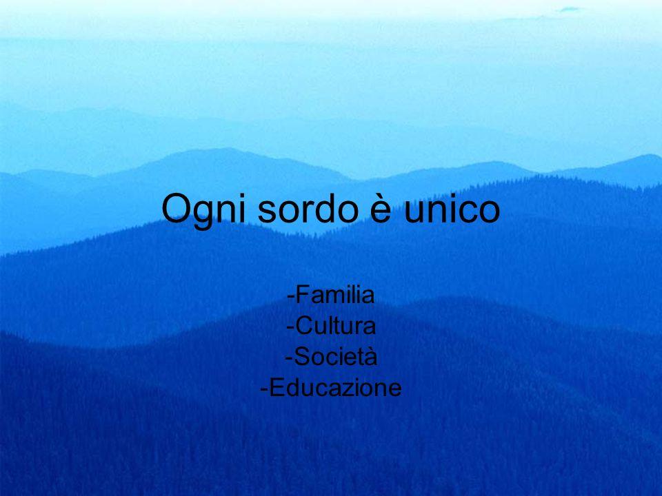 -Familia Cultura Società Educazione