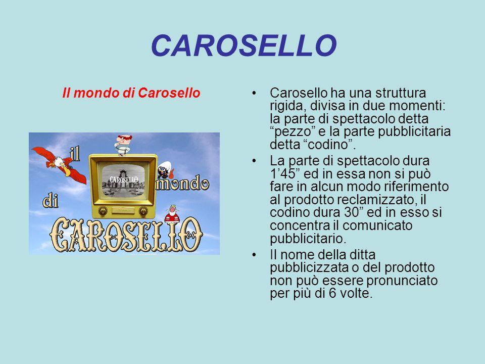 CAROSELLO Il mondo di Carosello