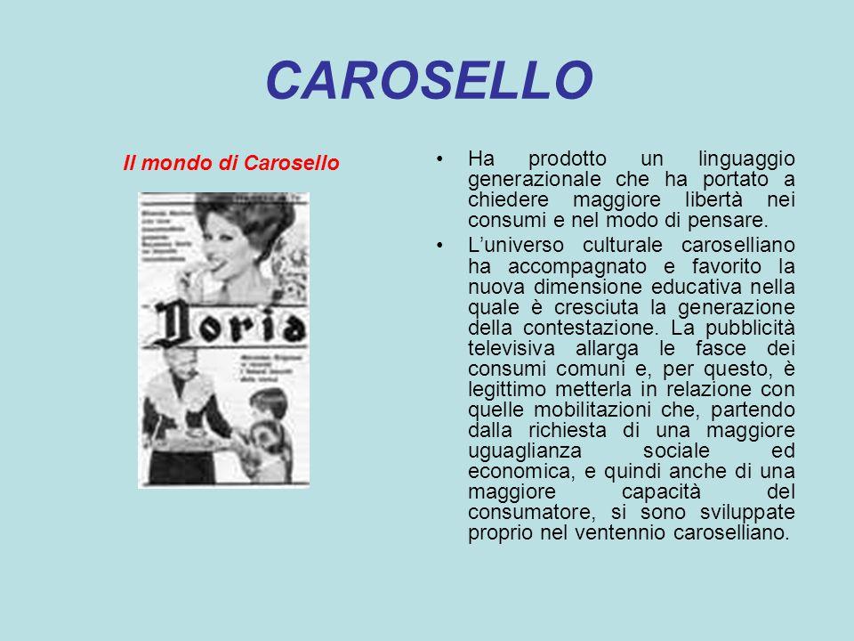 CAROSELLO Il mondo di Carosello.