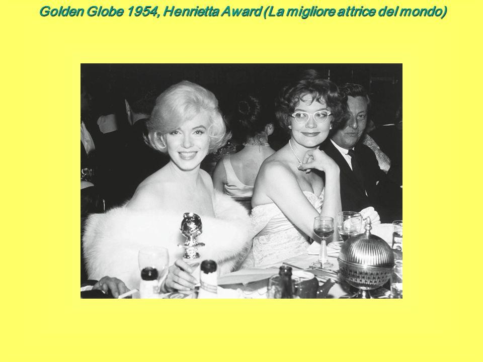 Golden Globe 1954, Henrietta Award (La migliore attrice del mondo)