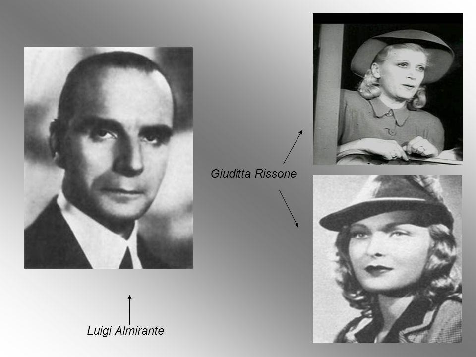 Giuditta Rissone Luigi Almirante