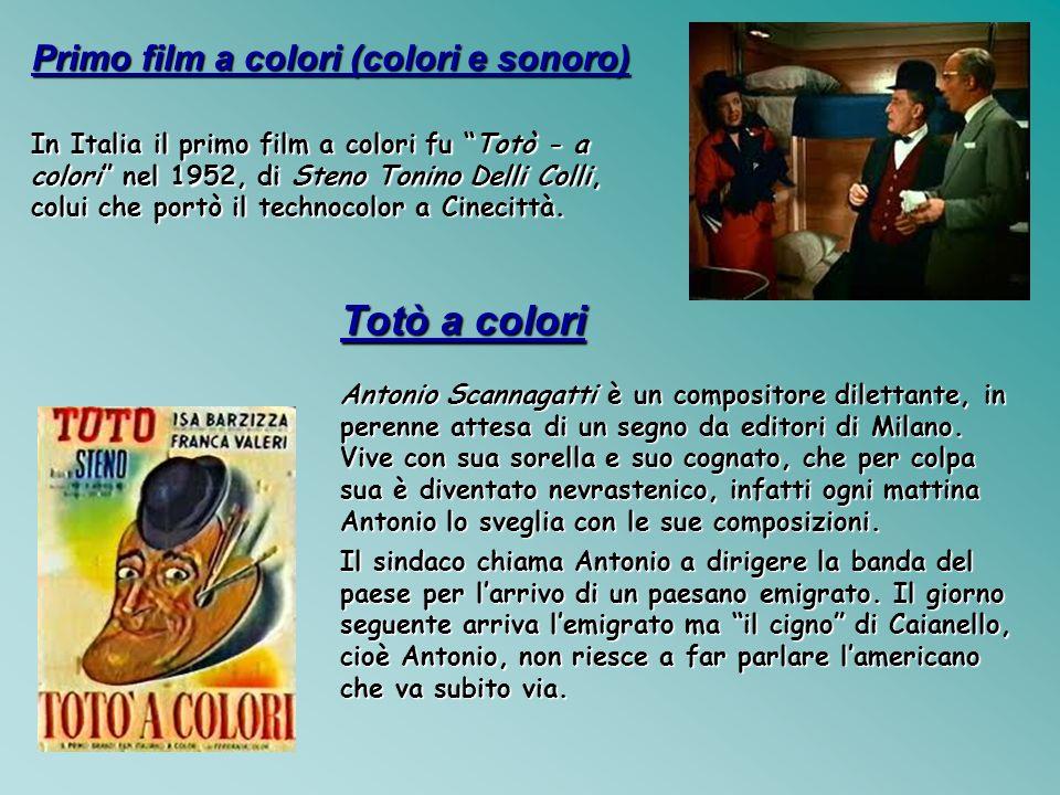 Totò a colori Primo film a colori (colori e sonoro)