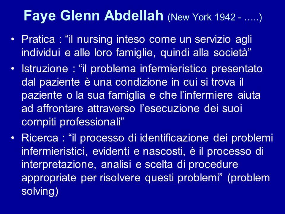 Faye Glenn Abdellah (New York 1942 - …..)