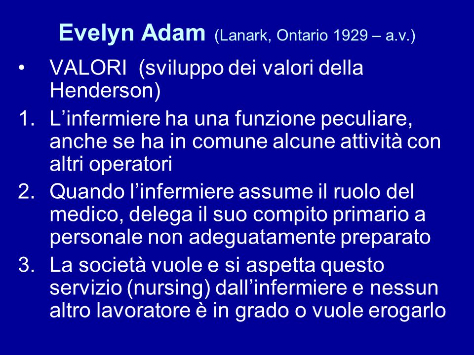 Evelyn Adam (Lanark, Ontario 1929 – a.v.)