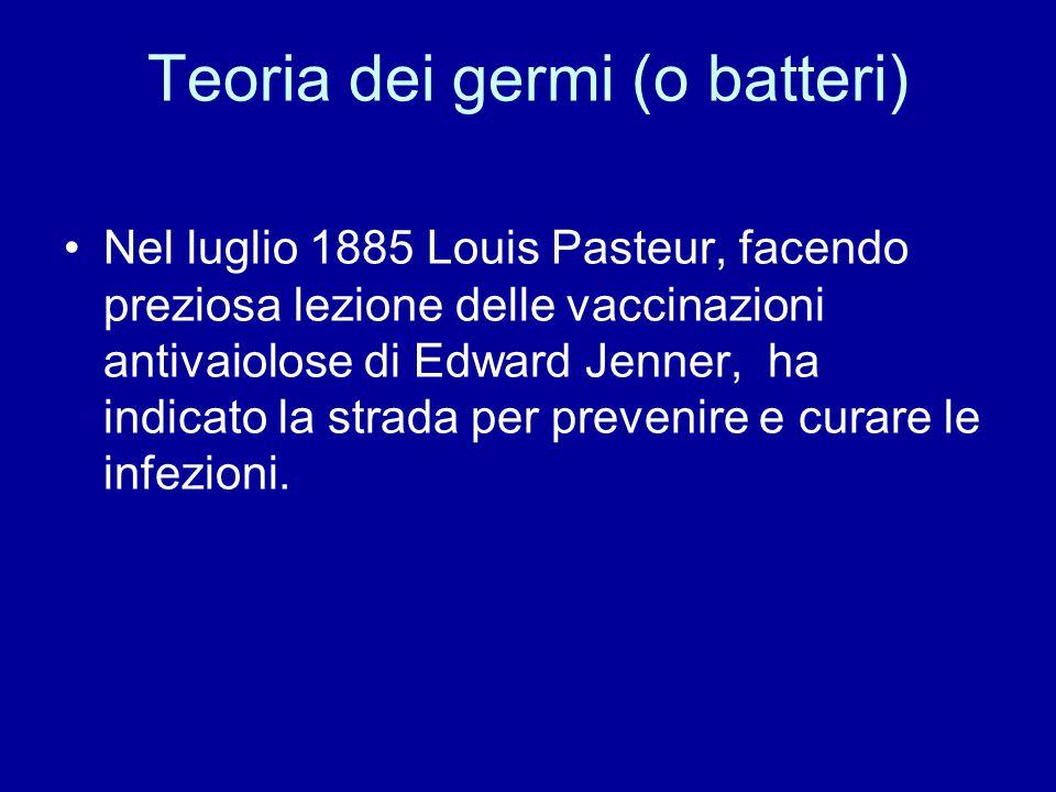 Teoria dei germi (o batteri)