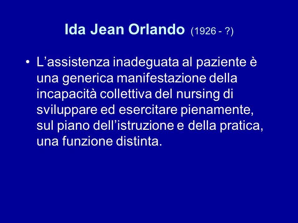 Ida Jean Orlando (1926 - )
