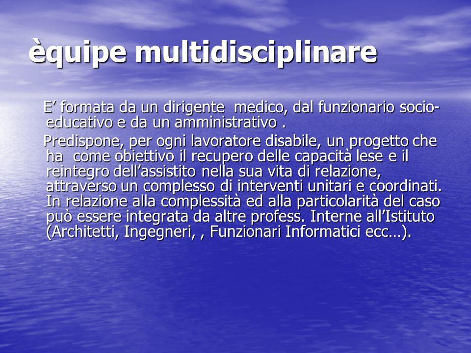 èquipe multidisciplinare